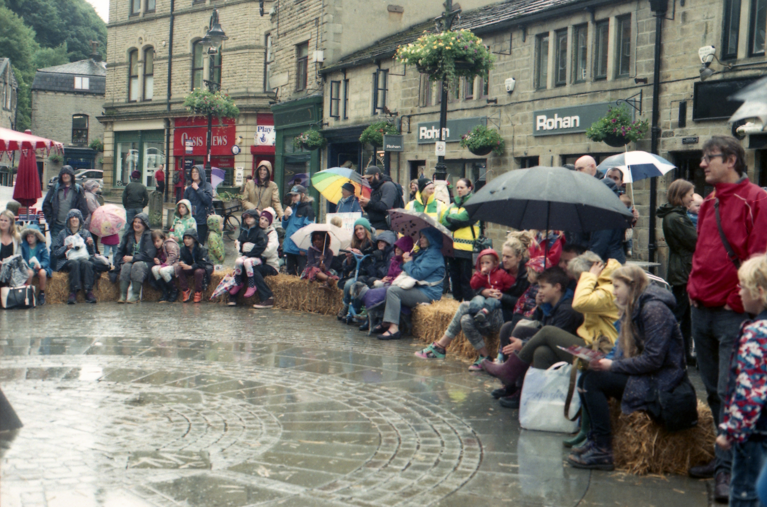 184/366 - We spent the day in Hebden Bridge with my parents and it rained... a lot. I still love it there though, so I'll forgive the weather.