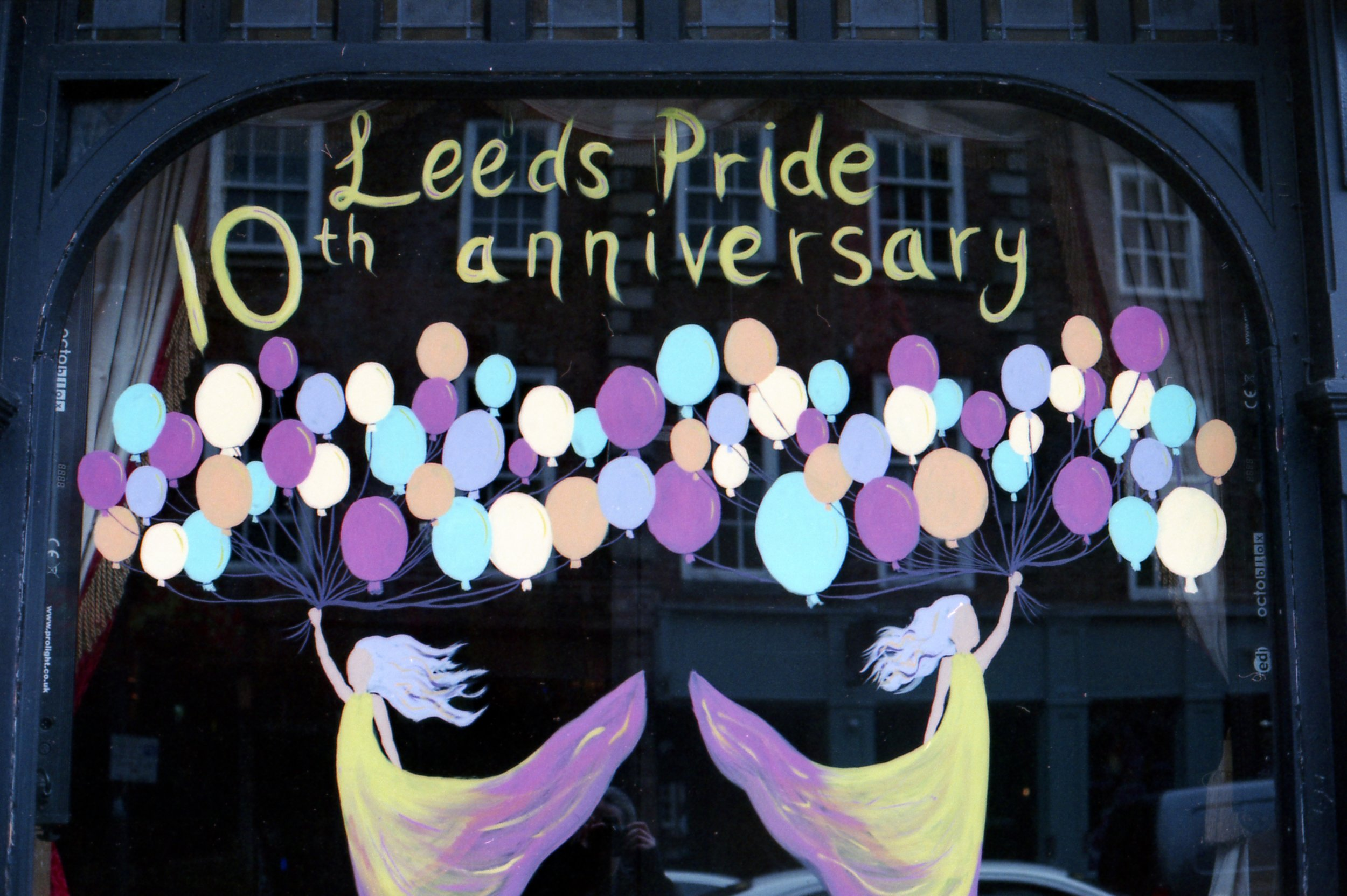 210/366 - I love how colourful everything gets in Leeds when its Pride, the windows this year were especially awesome!