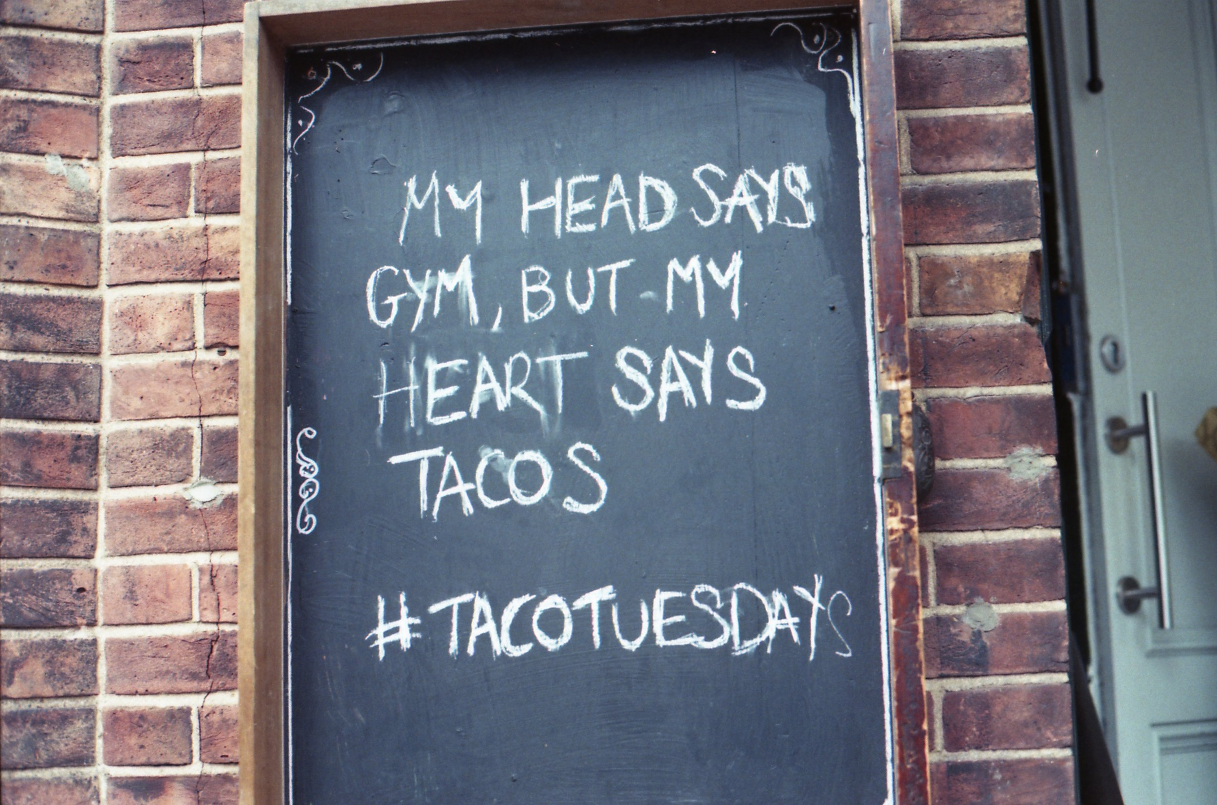 216/366 -I mostly took this photo because it was actually Wednesday and that made me chuckle for some reason. Everyday is taco Tuesday though right?!