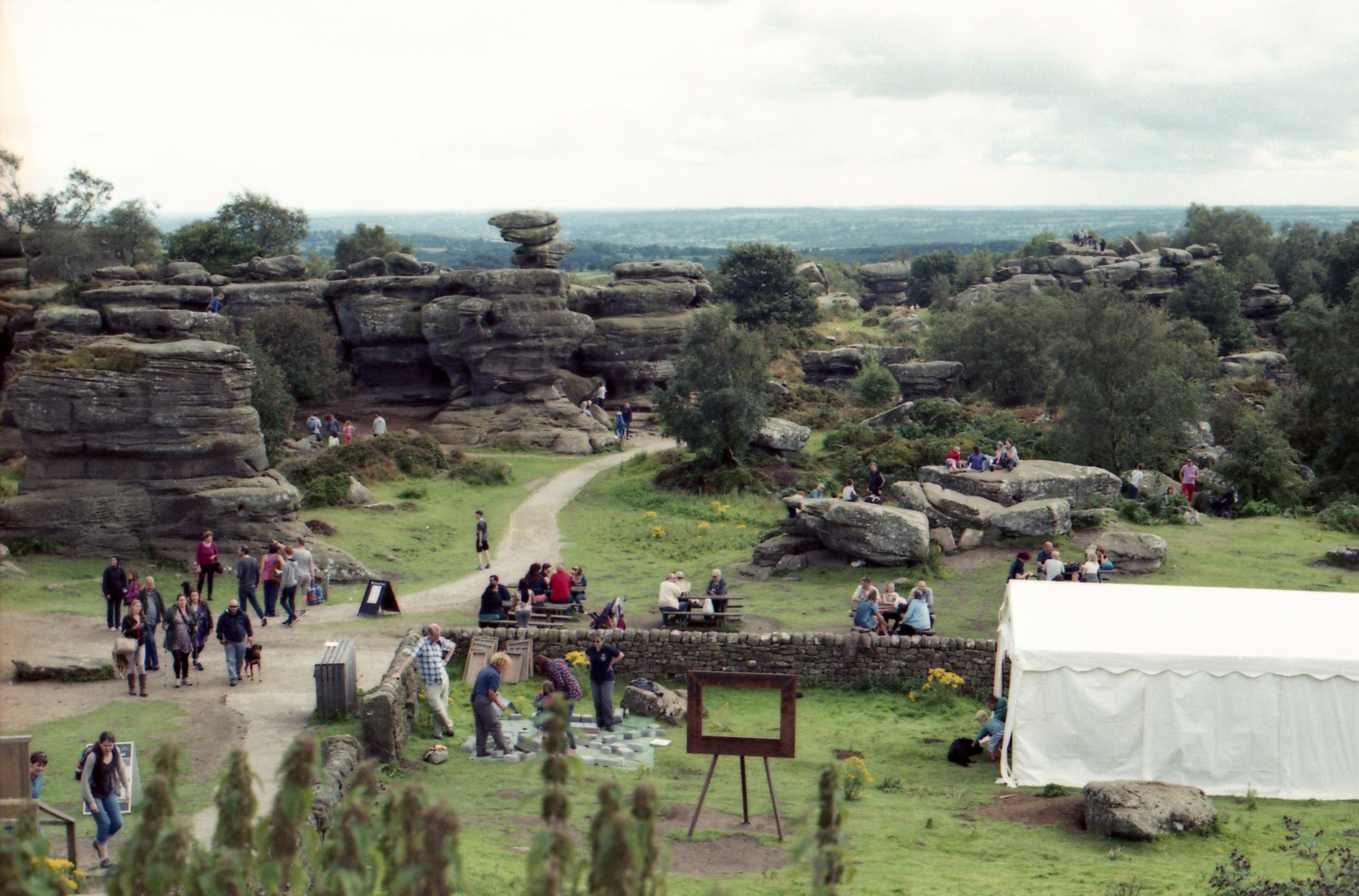 226/366 - We visited Brimham Rocks with Thomas's parents and I have to admit that I was as blown away by them as I was the first time we visited, such an amazing thing to have on yur doorstep!