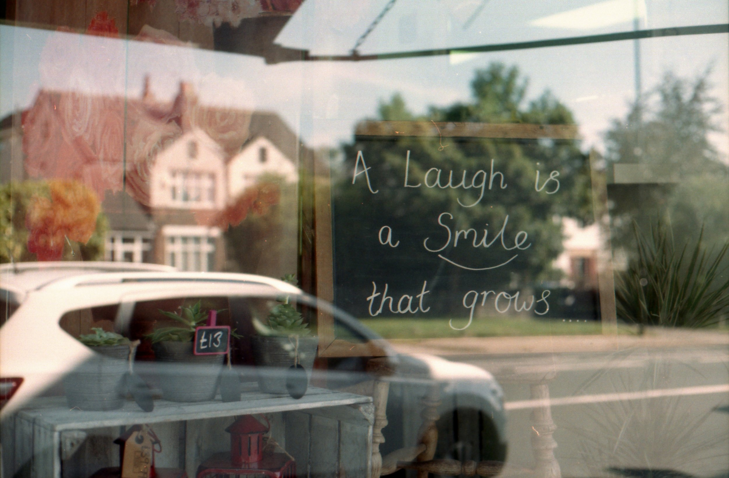 "234/366 - ""A laugh is a smile that grows"". Perfect!!"