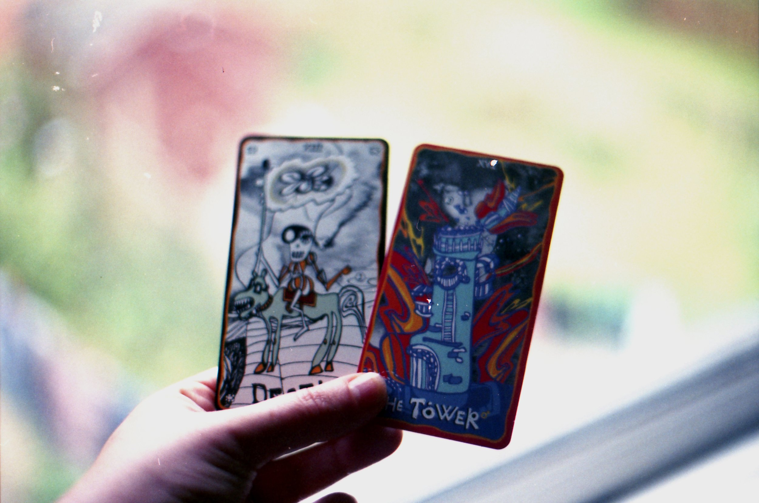 247/366 - When you get the death and tower card in one reading - yikes. It quickly made sense after a couple of days. If they don't straight away then with time, they usually do...