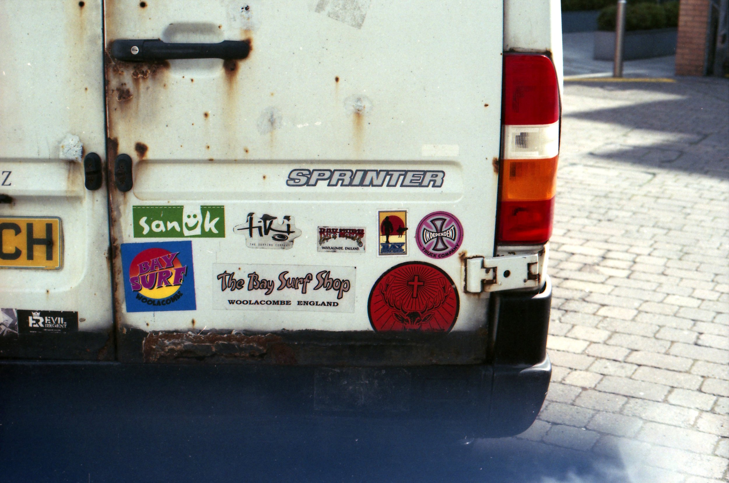 251/366 - These stickers definitely caught my eye.