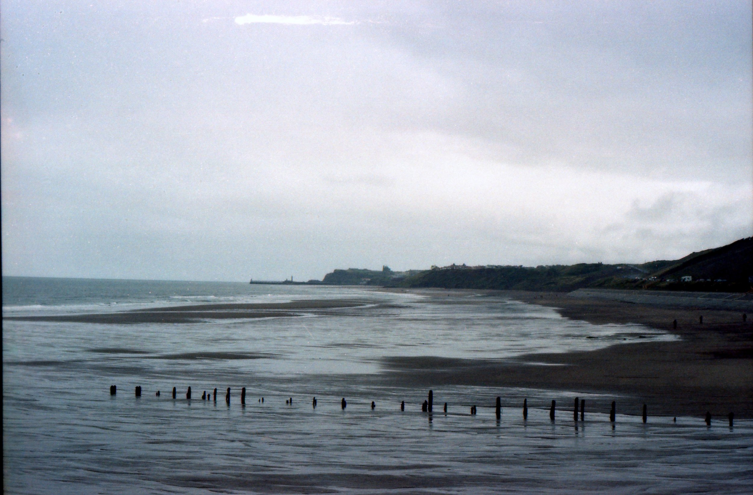 264/366 - We walked from Whitby to Sandsend and it was as lovely as I remembered, even on a grey day where we got caught (and soaked) in the rain.