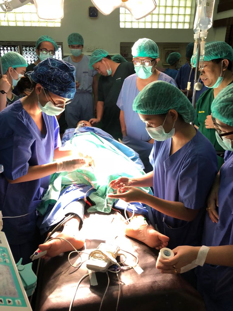 First IOM patient in Yangon
