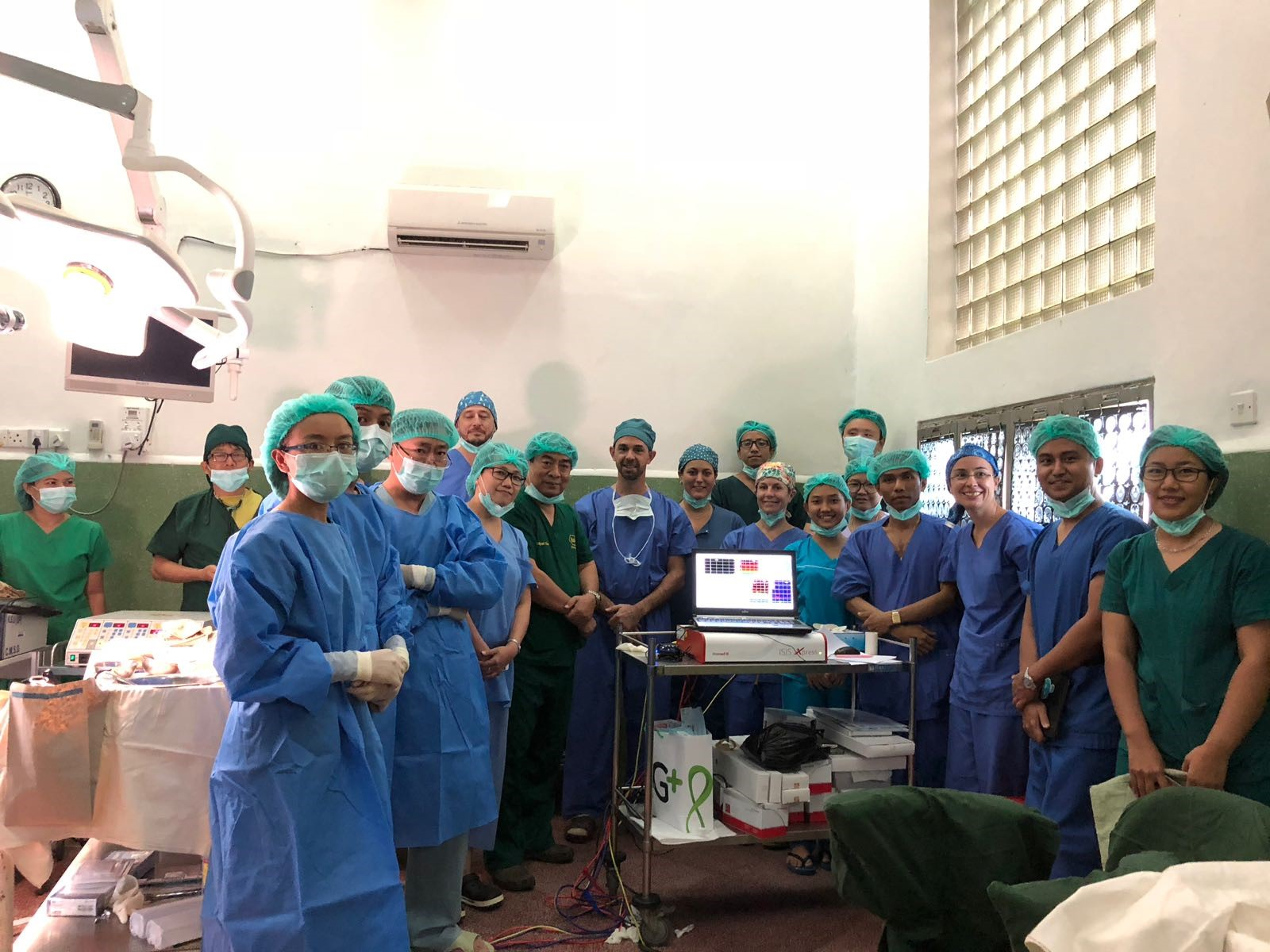 Teamwork, Neurosurgical Department, University 1, Yangon