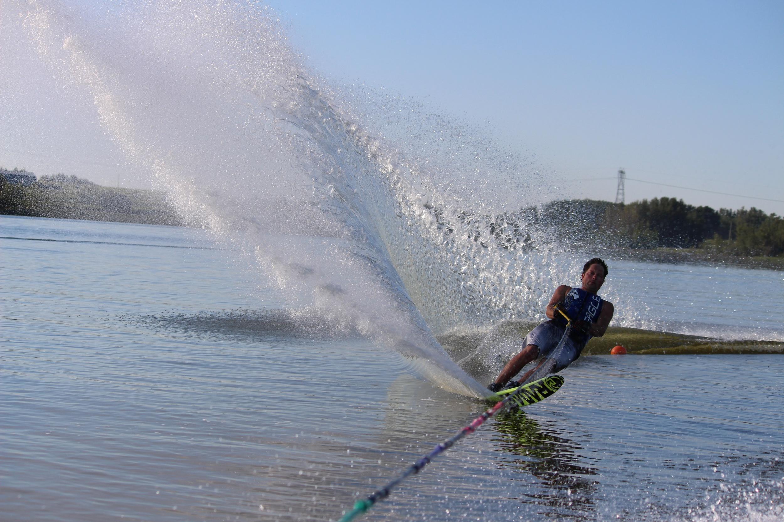 Todd Skiing