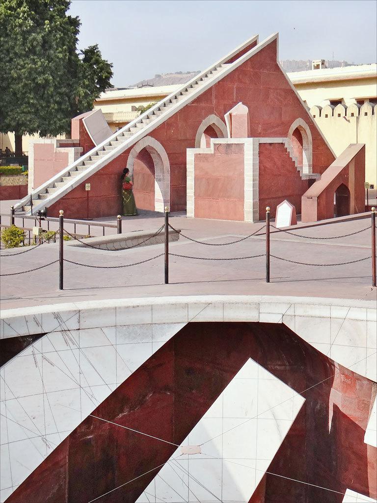 Jantar Mantar observatory, Jaipur Photo credit:  Jean-Pierre Dalbéra