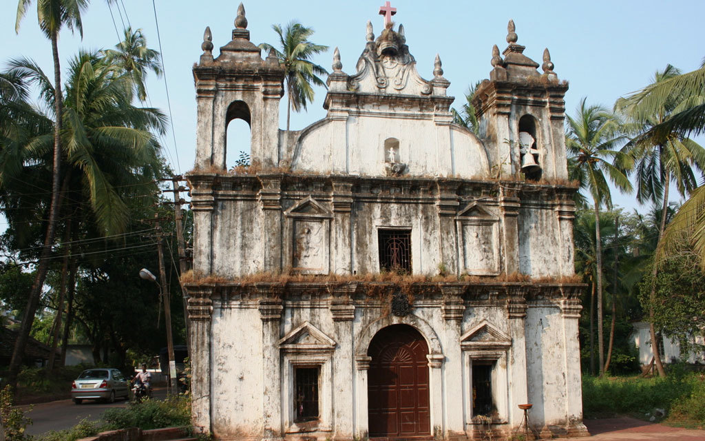 Goan church Photo credit:  Nagarjun Kandukuru
