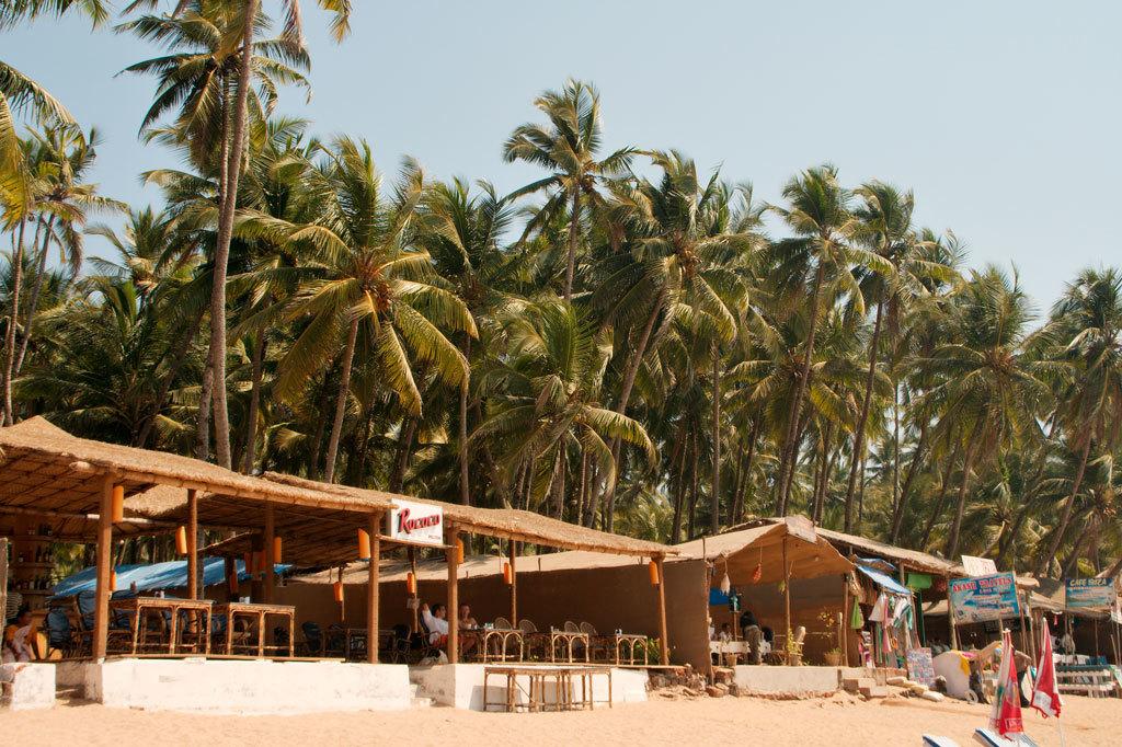 Beach shacks Photo credit:  Christian Haugen