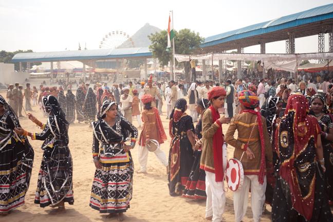 Pushkar Fair Photo credit:  Jason Rufus