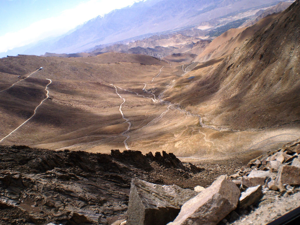 Roads in the Ladakh landscape Photo credit: Rashmi Prakash