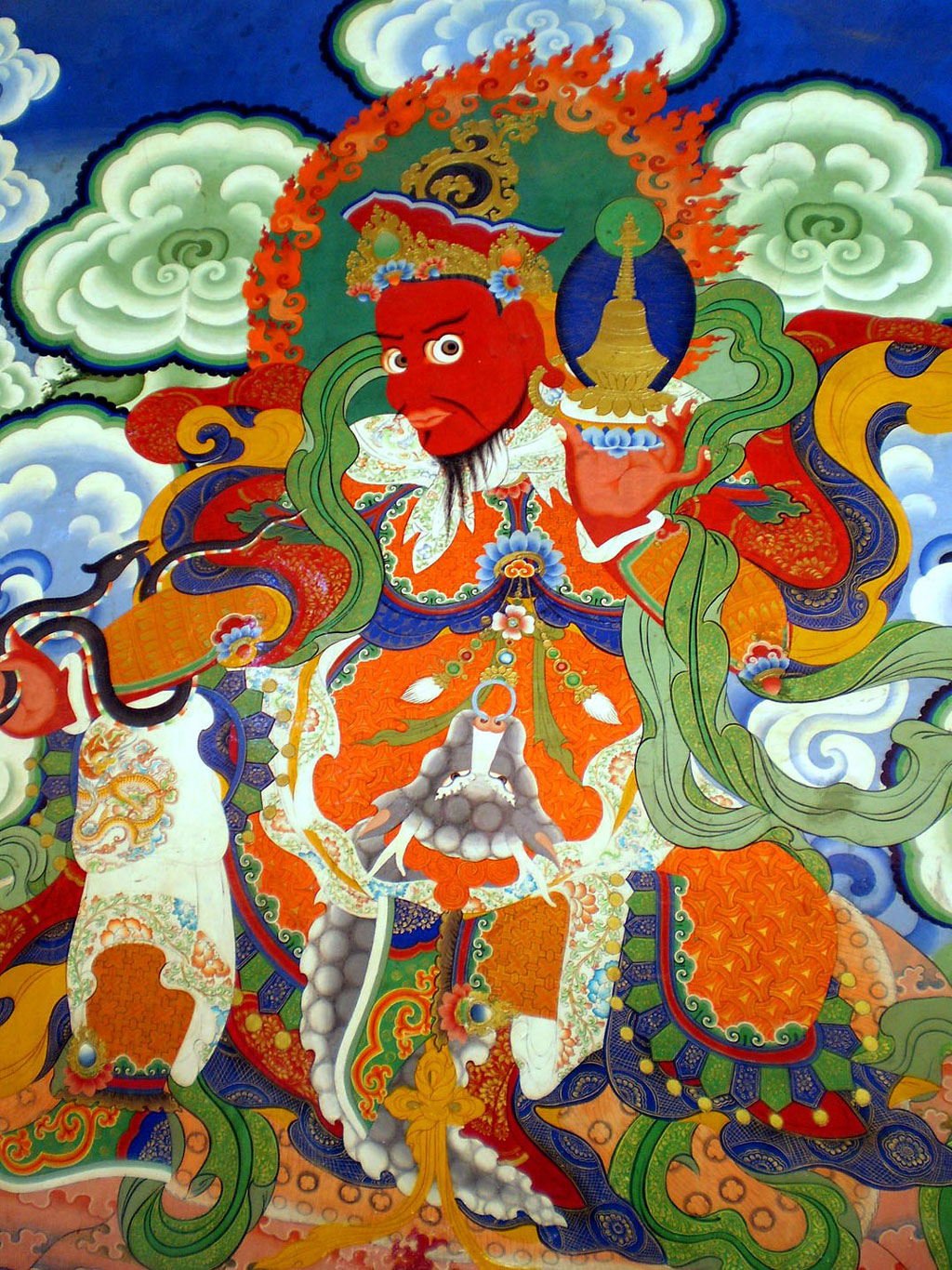 Mural at Hemis Monastery Photo credit: Rashmi Prakash