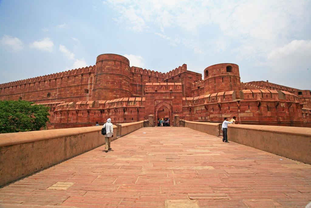 Agra Fort, Agra Photo credit:  Laszlo Ilyes
