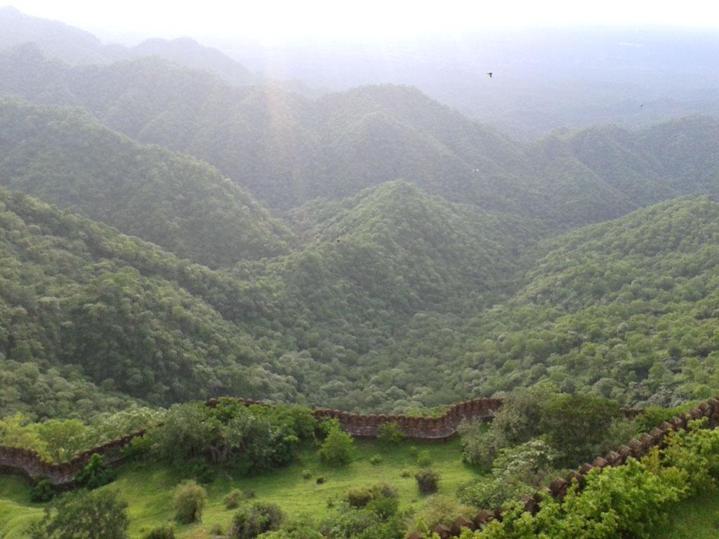 View from Kumbhalgarh Fort Photo credit: Prashant Prakash