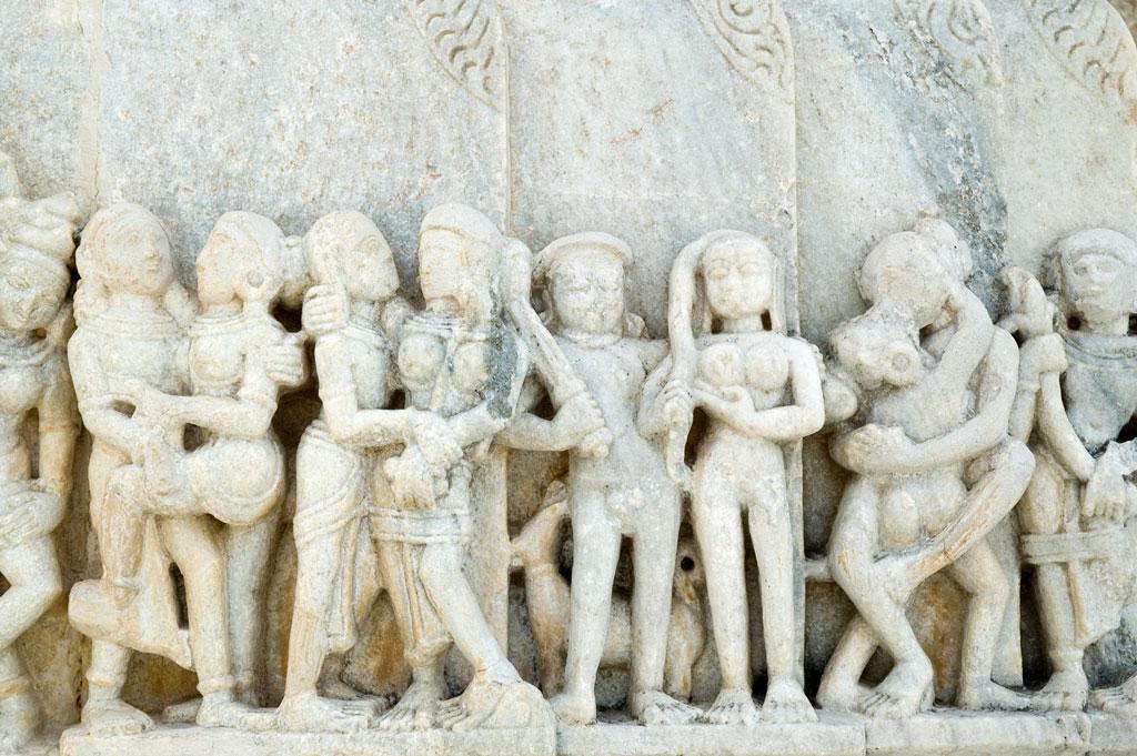 Carvings at Ranakpur   Photo credit:  Paul Asman and Jill Lenoble