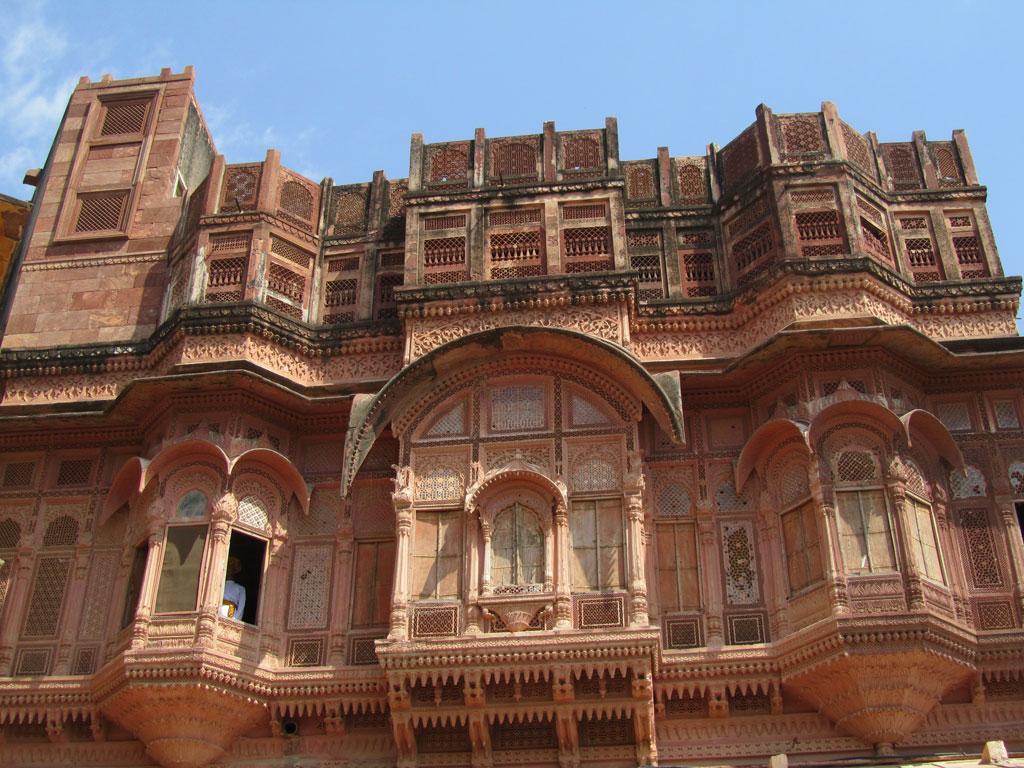 Mehrangarh Fort, Jodhpur Photo credit: Rustom Katrak