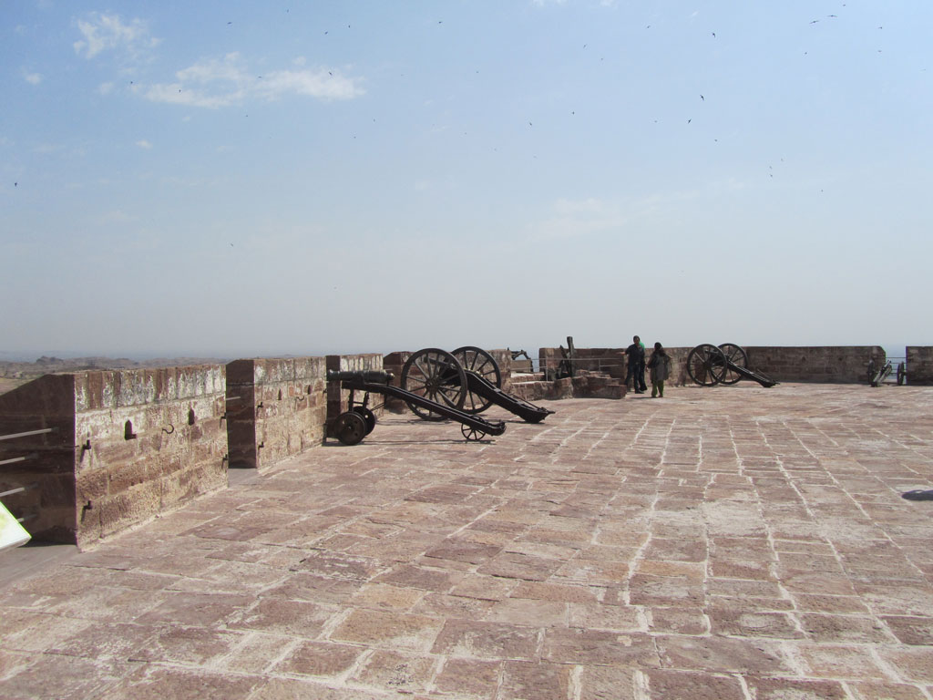 Ramparts ofMehrangarh Fort, Jodhpur Photo credit: Rustom Katrak
