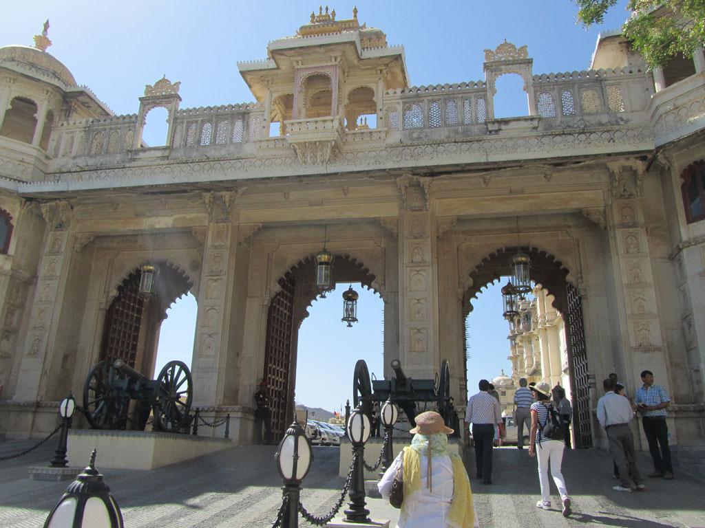 City Palace, Udaipur Photo credit: Rustom Katrak