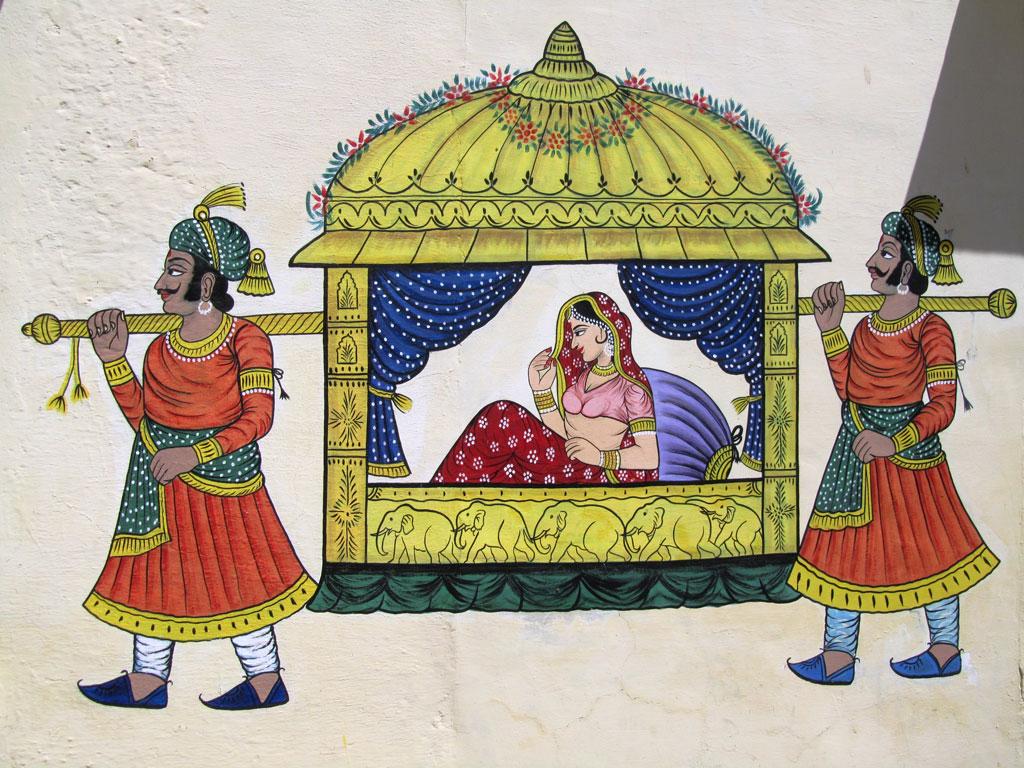 Traditional Painting, Udaipur Photo credit: Rustom Katrak