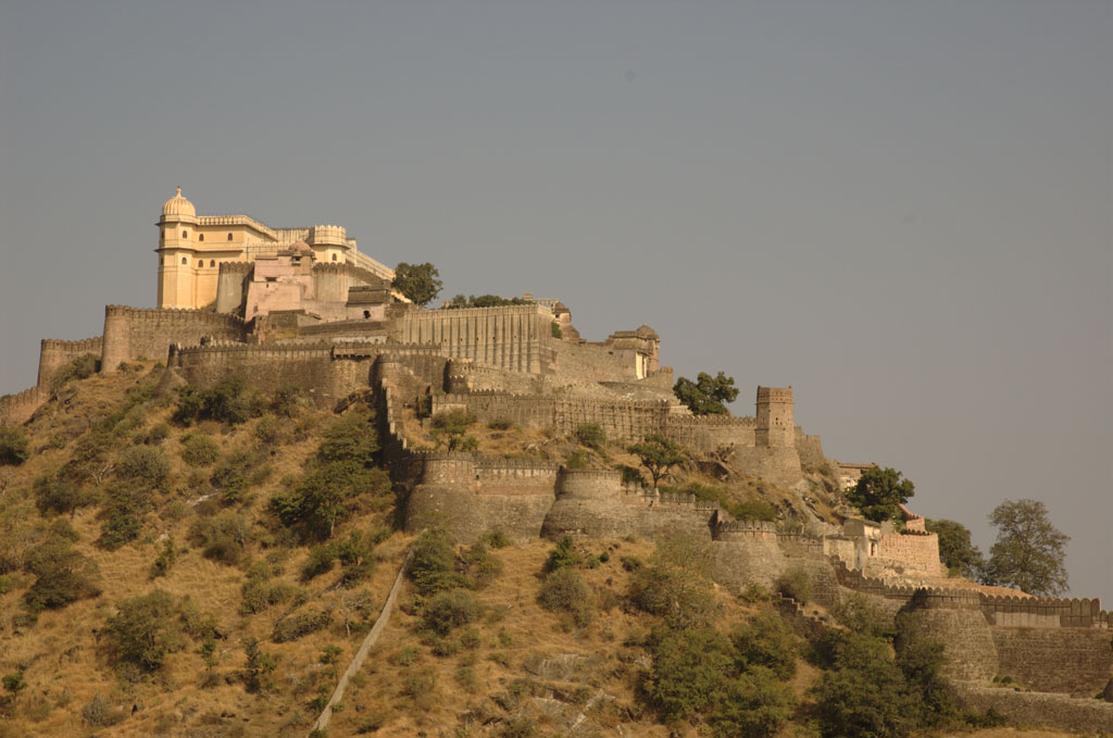 Kumbhalgarh Fort Photo credit:  Honza Soukup