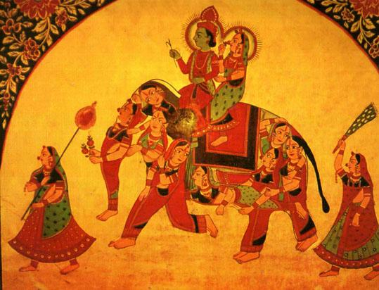 Traditional painting, Shekhawati