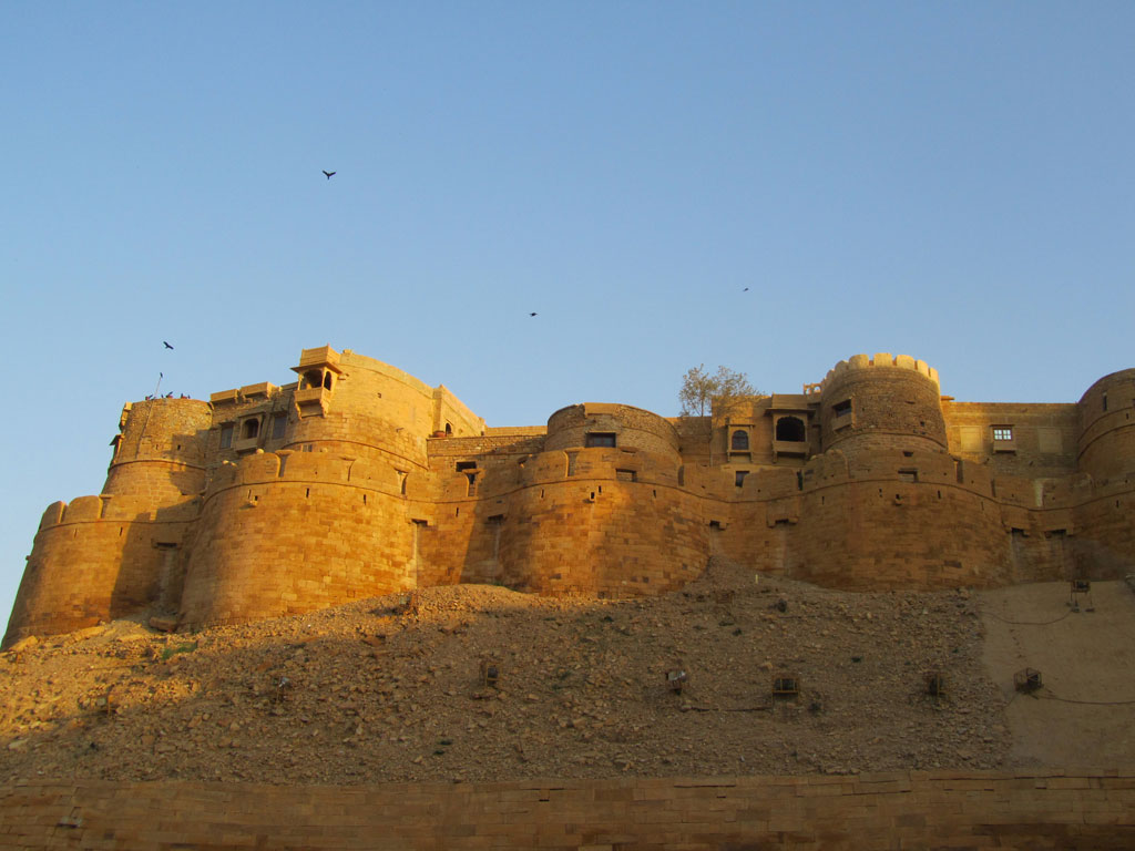 Jaisalmer Fort Photo credit: Rustom Katrak