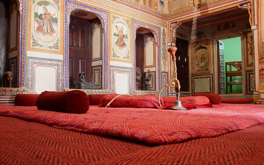 Haveli at Shekhawati Photo credit:  Nagarjun Kandukuru