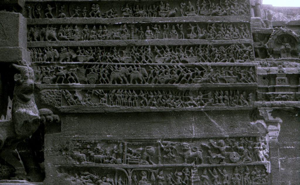 Carvings at Ellora Photo credit:  R Barraez D´Lucca