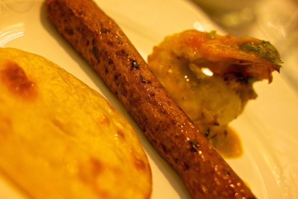 Kakori kebab Photo credit:  Edmund Gall