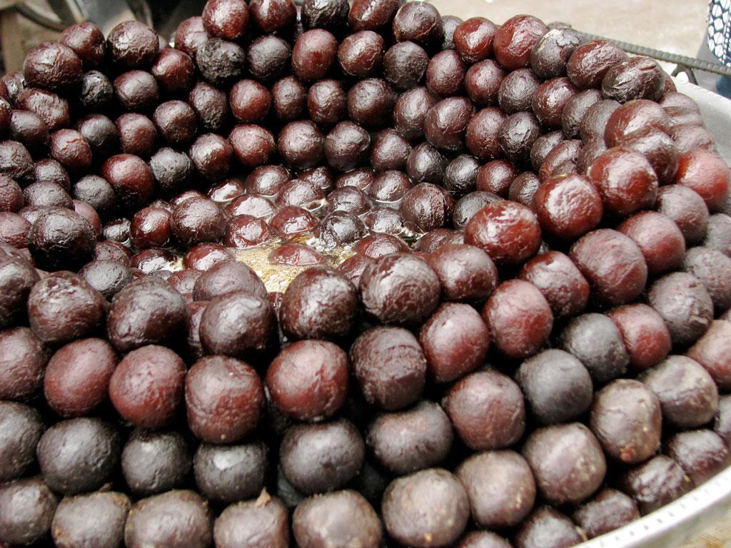 Gulab Jamuns , a famous Indian sweet Photo credit:  McKay Savage