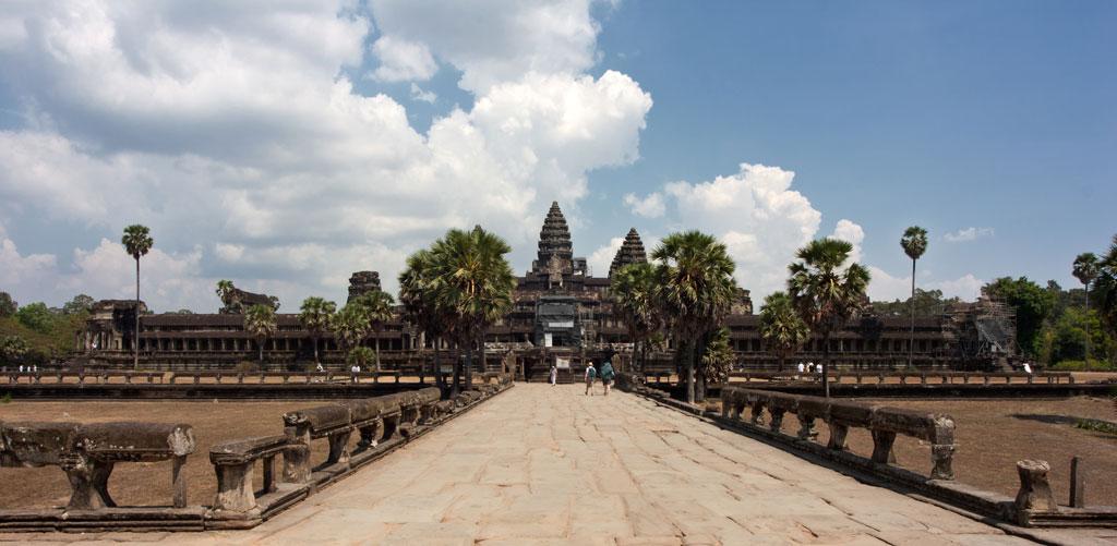 Angkor Wat Photo credit:  Jakub Michankow