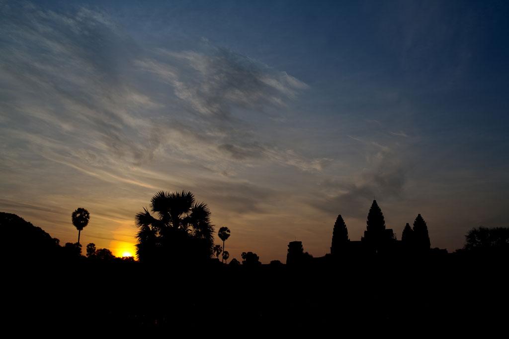 Angkor Wat at sunrise Photo credit:  Tushar Dayal
