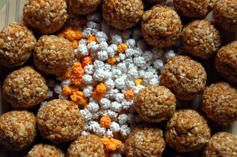 Traditional Makar Sankranti sweets Photo credit:  saloni_desai