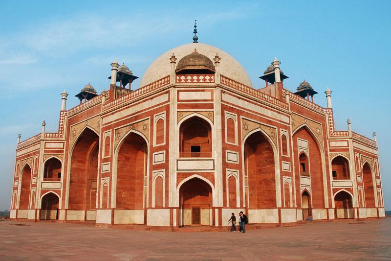 Humayun's tomb, Delhi Photo credit:  breic