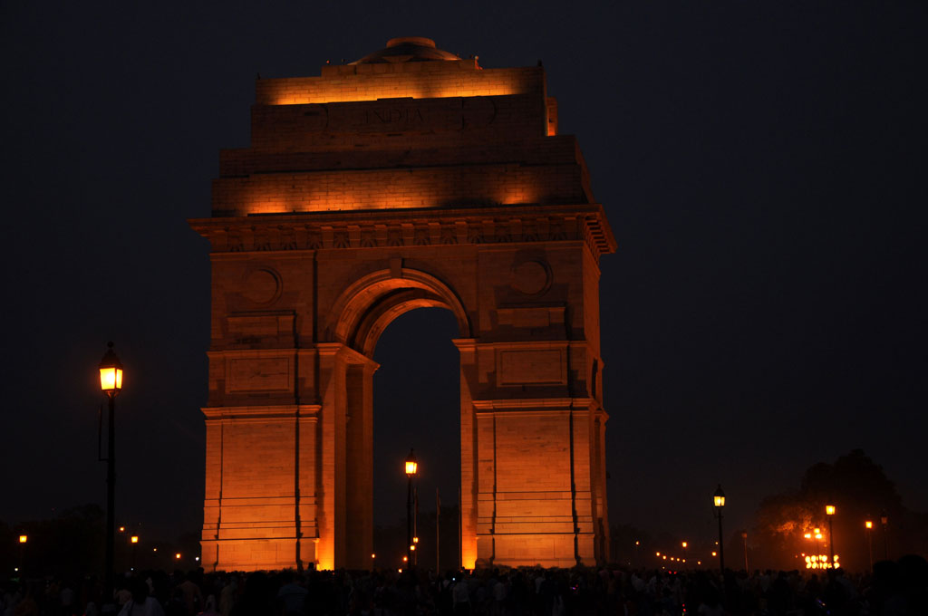 India Gate, Delhi Photo credit:  rajkumar1220