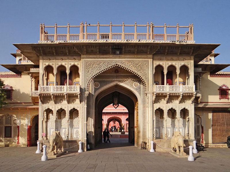 City Palace Museum, Jaipur   Photo credit:  Jean-Pierre Dalbéra