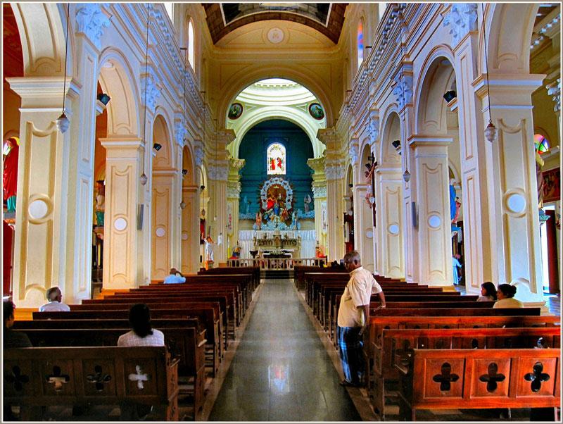 Church in Negombo Photo credit:  Ronald Saunders