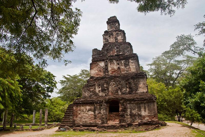 Sathmahal Prasada, Polonnaruwa Photo credit:  Hafiz Issadeen