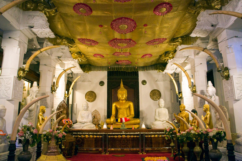 Temple of the Tooth, Kandy Photo credit:  Malcolm Browne