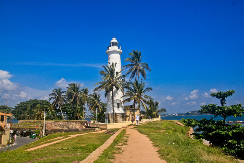 Galle Fort lighthouse Photo credit:  Patty Ho