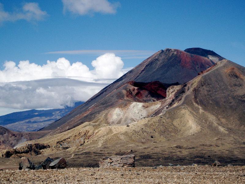 Tongariro volcano Photo credit:  Andrew Parnell