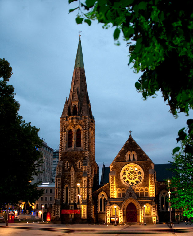 Christchurch Cathedral Photo credit:  mommyster