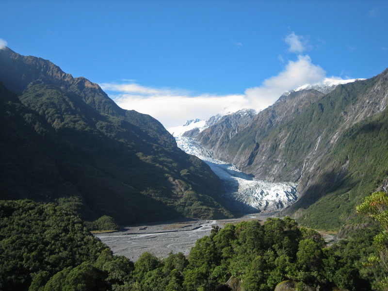 Franz Josef Glacier Photo credit:  russellstreet