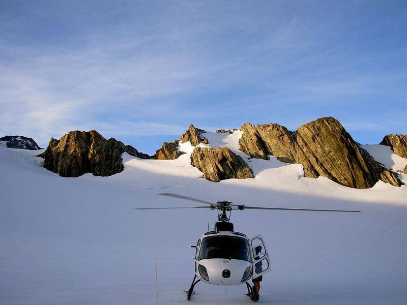 Franz Josef Glacier Photo credit:  Walter Rumsby