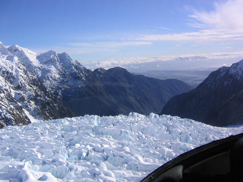 Franz Josef Glacier Photo credit:  Phil Whitehouse