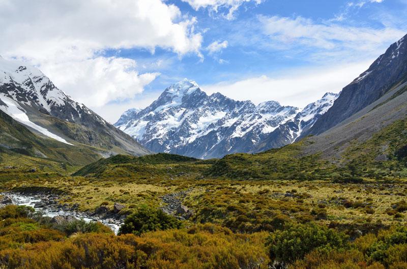 Mount Cook Photo credit:  Tristan Schmurr