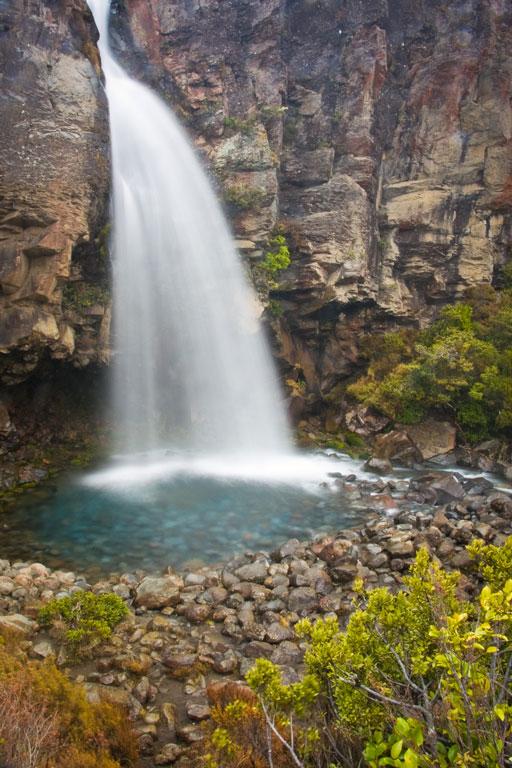 Taranaki Falls, Tongariro National Park Photo credit:  Jeff P