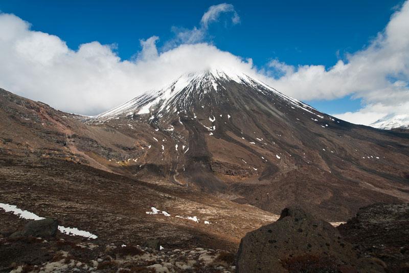 Mount Ngauruhoe Photo credit:  Jason Pratt
