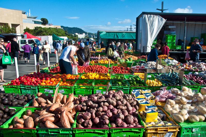 Wellington Market Photo credit:  Phillip Capper